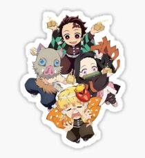Tanjiro Squad - Demon Slayer: Kimetsu no Yaiba Sticker