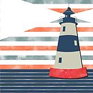 Retro Lighthouse by Namoh