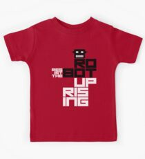 Resist the Robot Uprising Kids Tee