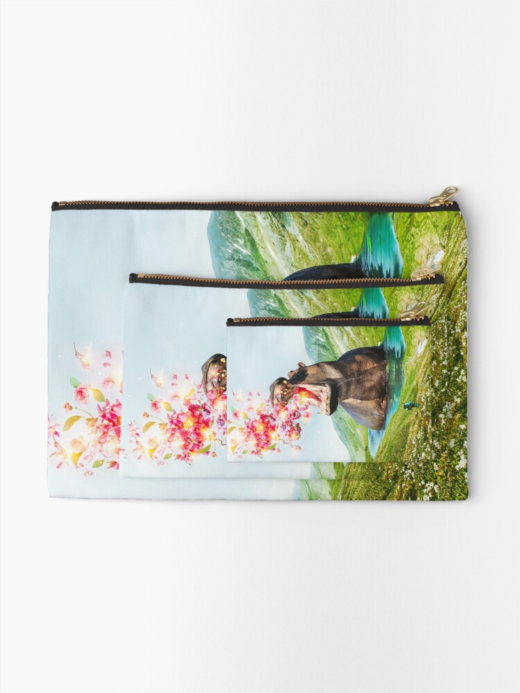 Alternate view of From Within Zipper Pouch