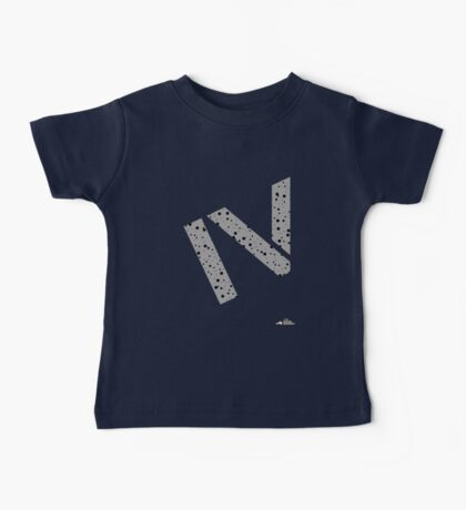 Cement splatter Roman numeral 4 T-shirt Kids Clothes