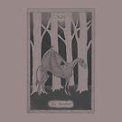 Tarot Card - XIII - Death - Thestral by Sydney Koffler