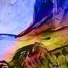 blue cliff coastline #2... by banrai