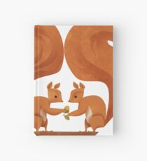 Squirrel Lovers Hardcover Journal