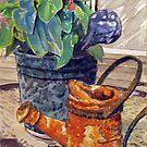 Back Porch Still Life by Jim Phillips