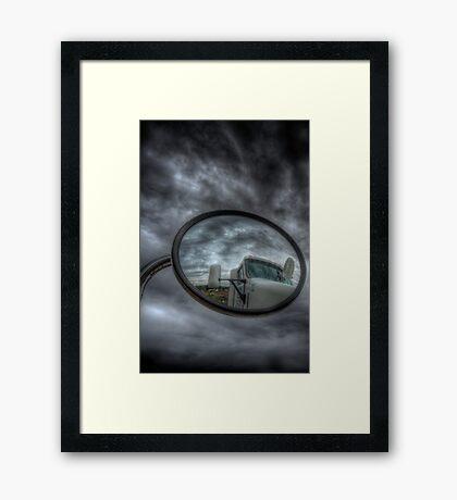 Cloud Trucker Framed Print