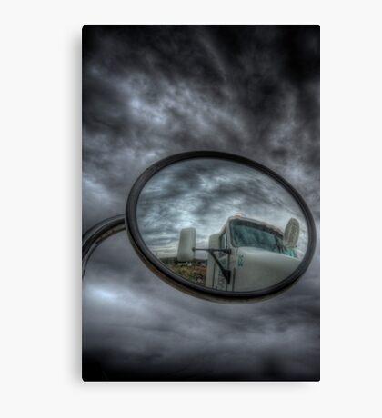 Cloud Trucker Canvas Print