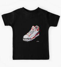 3D 8-bit basketball shoe 3 Kids Clothes