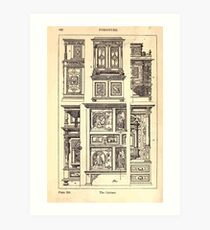 A Handbook Of Ornament With Three Hundred Plates Franz Sales Meyer 1896 0462 Furniture Cabinet Art Print