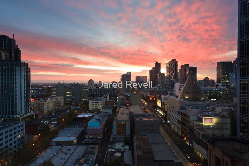 Sunrise on La Trobe by Jared Revell