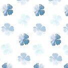 «Hoja azul de la suerte» de enami