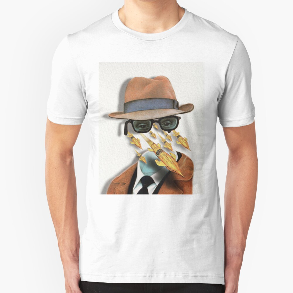I Am Invisible, Understand, Simply Because People Refuse To See Me Slim Fit T-Shirt