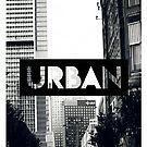 URBAN T-Shirt Originalversion 3 Schwarz & amp; Weiß von James G