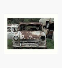 Car Cemetery | Old Car Yard, Sthn NSW Art Print