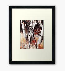 Zauberwald - Opfergaben / Magic Forest Ritual Offerings Framed Print