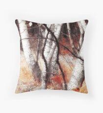 Zauberwald - Opfergaben / Magic Forest Ritual Offerings Throw Pillow