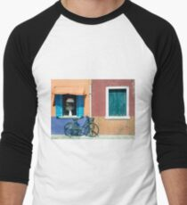 Bicycle  Men's Baseball ¾ T-Shirt