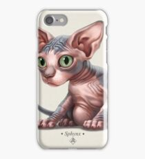Cat-a-clysm: Sphynx kitten - Classic iPhone Case/Skin