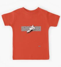8-bit basketball shoe 4 T-shirt Kids Tee