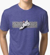 8-bit basketball shoe 4 T-shirt Tri-blend T-Shirt