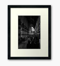 Pews ... Framed Print