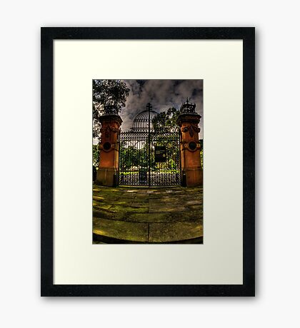 All That Remains - The Garden Palace, Royal Botanical Gardens, Sydney - The HDR Experience Framed Print