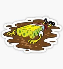 Oily Sponge Sticker