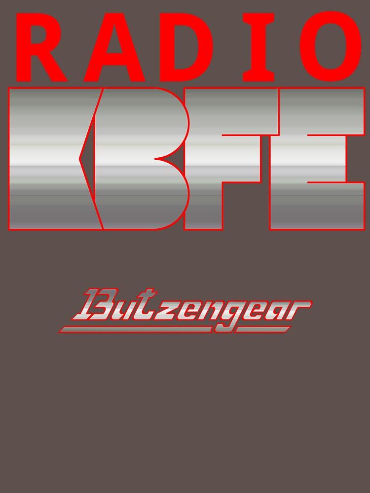 Radio KBFE on Various Colours by Butzengear