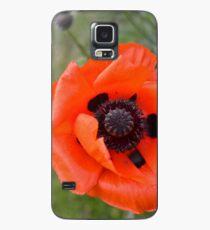 Popping poppy Case/Skin for Samsung Galaxy
