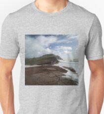 Stormy Seatown, Chideock, Dorset UK Unisex T-Shirt