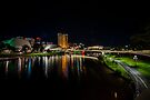 Adelaide Riverbank at Night V by Raymond Warren