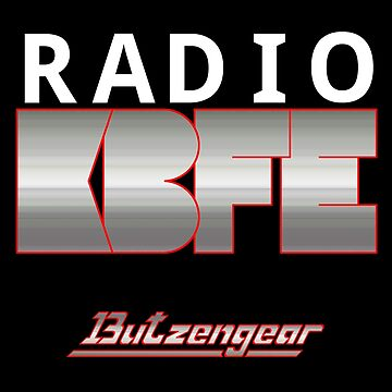 Radio KBFE on Dark by Butzengear