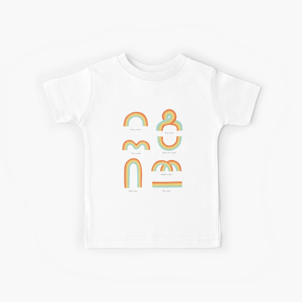 Know Your Rainbows Kids T-Shirt