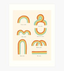 Know Your Rainbows Art Print