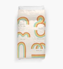 Know Your Rainbows Duvet Cover