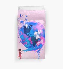 Bubble Earth Duvet Cover