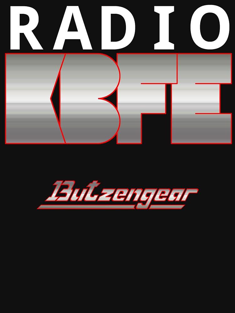 Radio KBFE on Dark by Butzengear