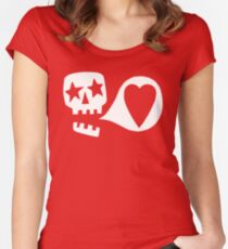 We love you Fitted Scoop T-Shirt