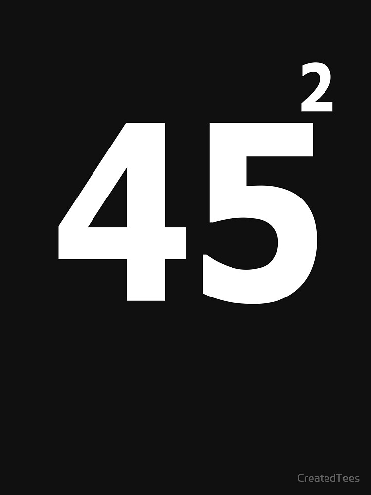 45 Squared by CreatedTees