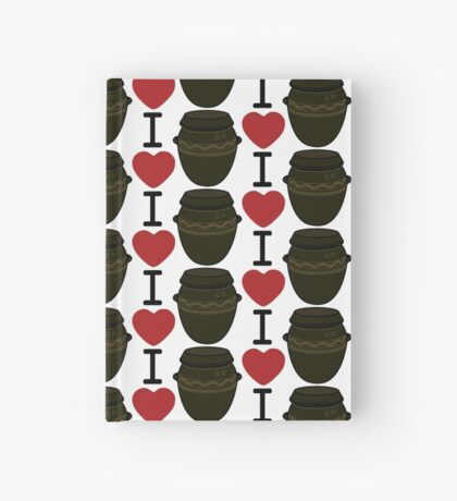 I Lubba Kimchi Third Culture Series Hardcover Journal