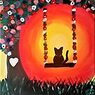 Swingin Kitty by Kamira Gayle