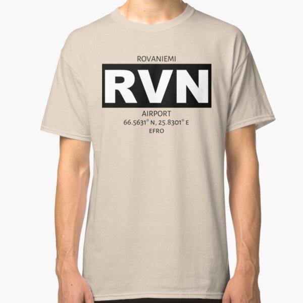 Rovaniemi Airport RVN Classic T-Shirt