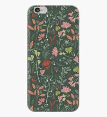 Blumenmuster des glühenden bosque Waldes iPhone-Hülle & Cover