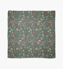Glowy bosque forest floral pattern Scarf