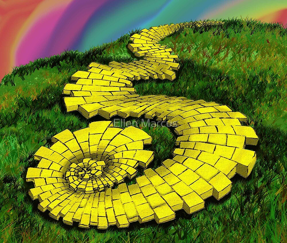 quotyellow brick roadquot by ellen marcus redbubble