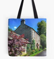 Cottage at New Lanark Tote Bag