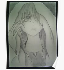 Anime drawing Poster