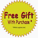 FREE GIFT Vintage Art by Bruce ALMIGHTY Baker