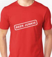 Beer Junkie Unisex T-Shirt