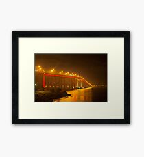 Mofo Bridge Framed Print